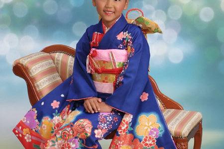 七歳☆お着物とドレスのお写真