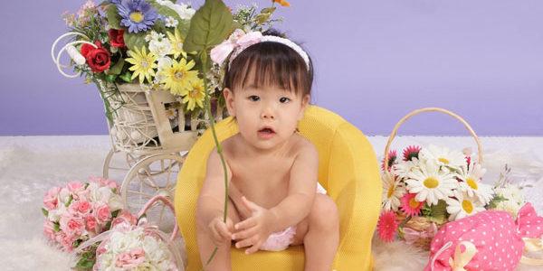ベビー☆誕生日のお写真