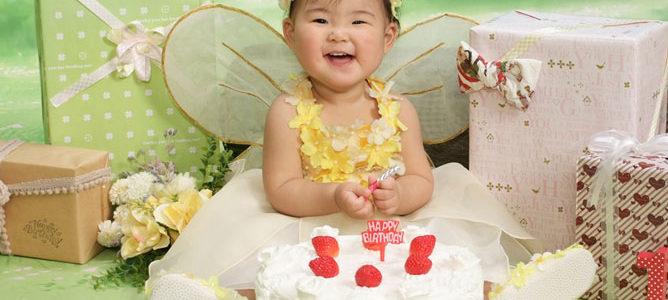 1歳の誕生日を迎えました!