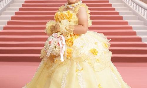七五三の三歳のお祝い~ドレス♪